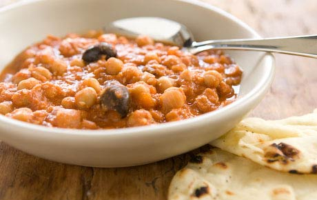 Slow Cooker Chickpea and Lentil Stew Recipe