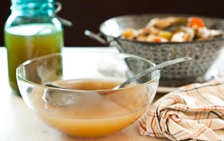 Golden Chicken Broth Recipe