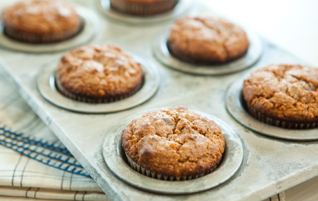 Gluten-Free Carrot and Date Muffins
