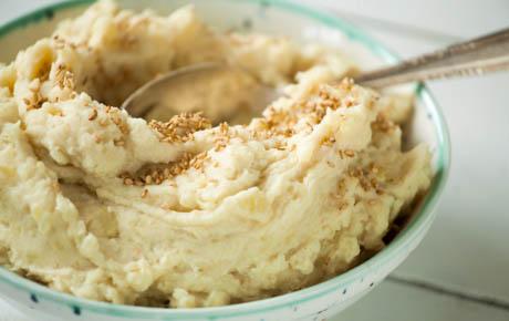 Tahini-Garlic Mashed Potatoes