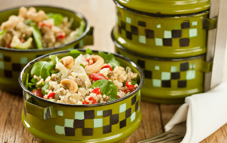 Lentil and Quinoa Salad with Cashews Recipes