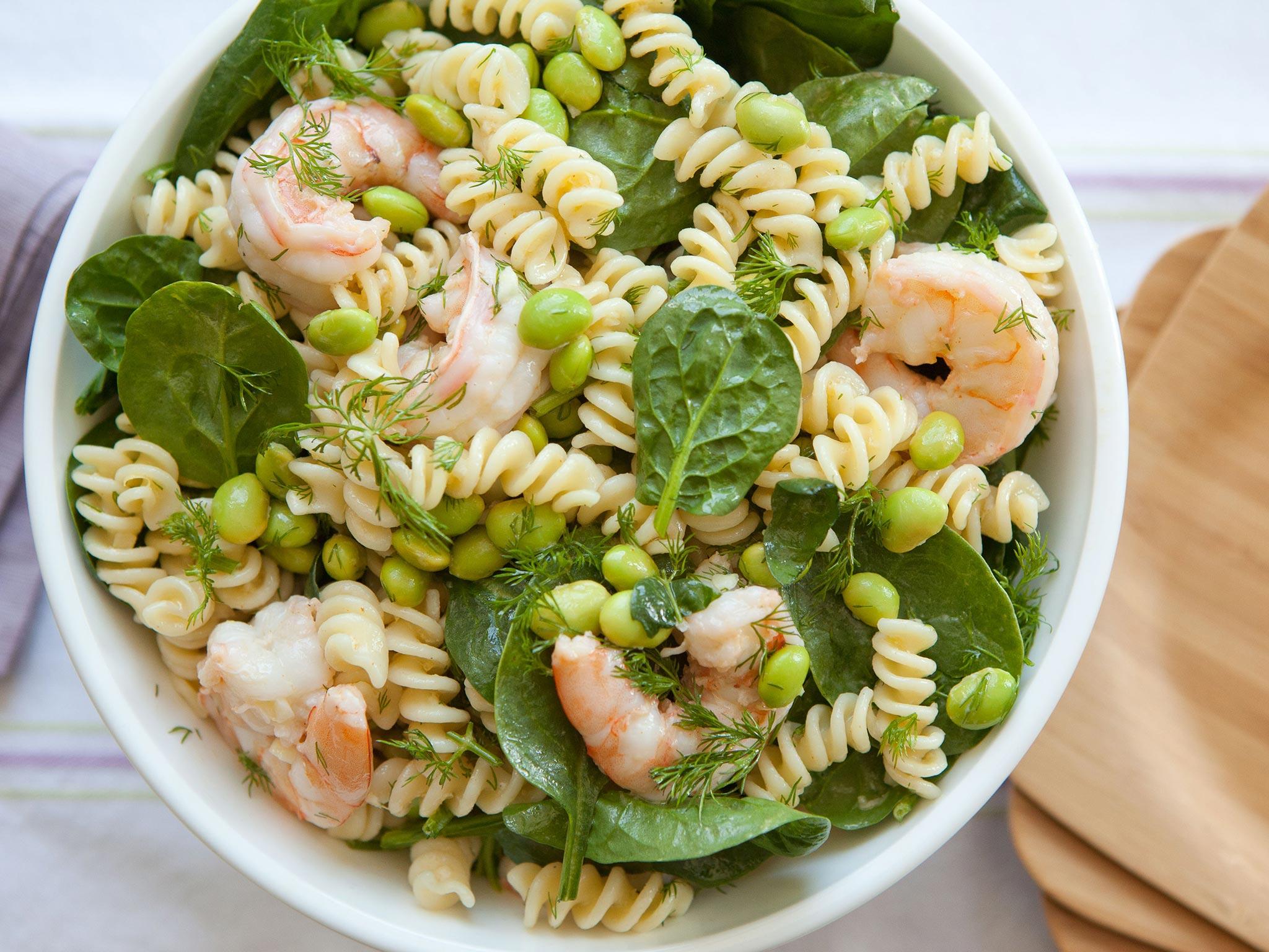 Recipe Dilled Shrimp Pasta Salad Whole Foods Market