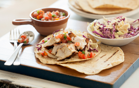 Grilled Swordfish Tacos