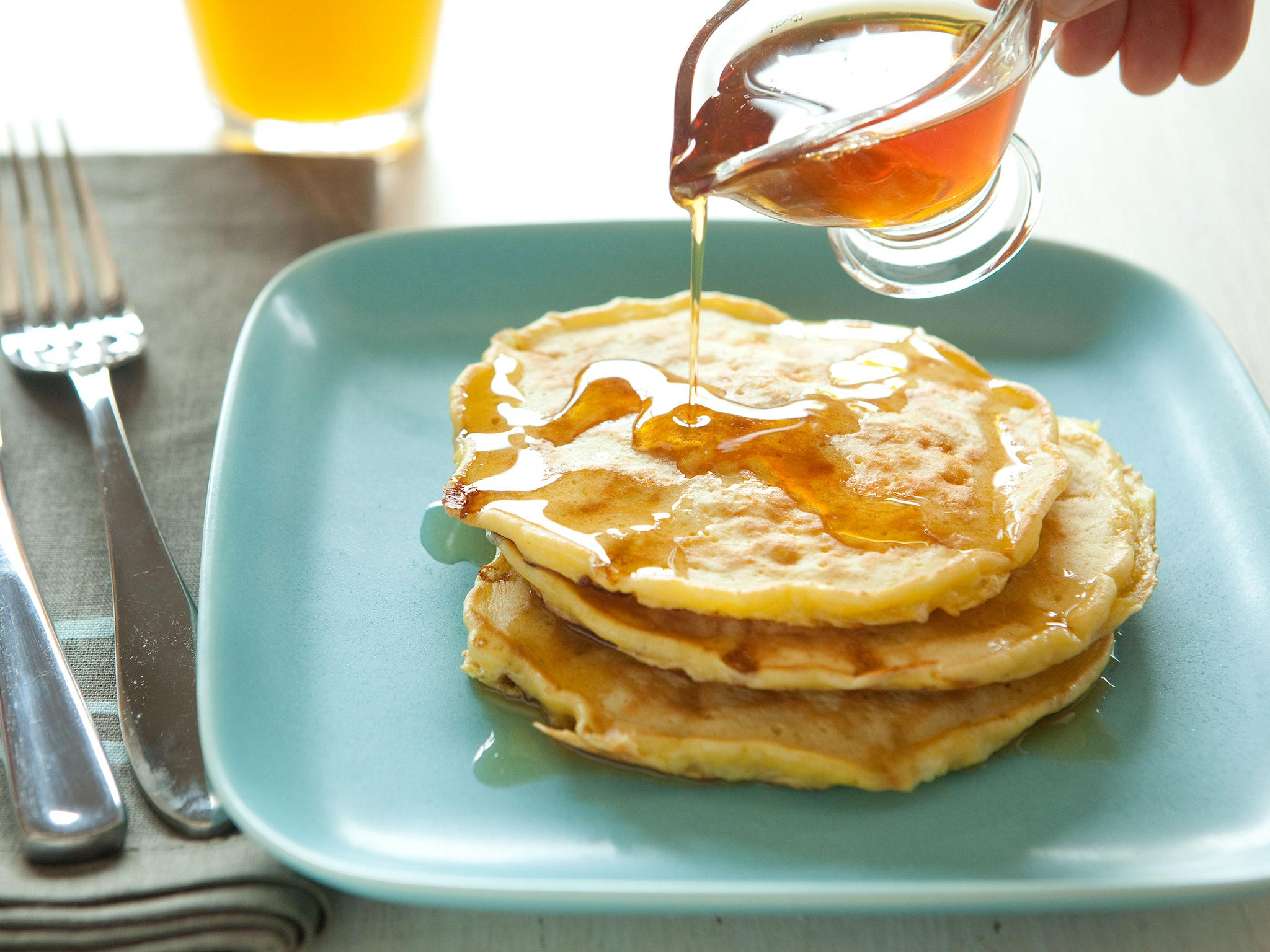 Amazing Fluffy Cottage Cheese Pancakes Interior Design Ideas Clesiryabchikinfo