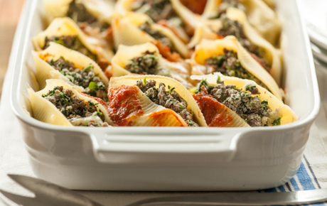Kid friendly recipes whole foods market beef and spinach stuffed shells forumfinder Images