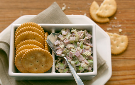 Ham Salad with Artichokes