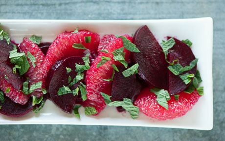 Grapefruit and Beet Salad