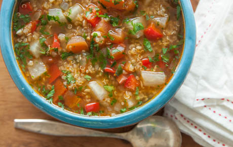 Easy soup suppers whole foods market quinoa vegetable soup forumfinder Choice Image