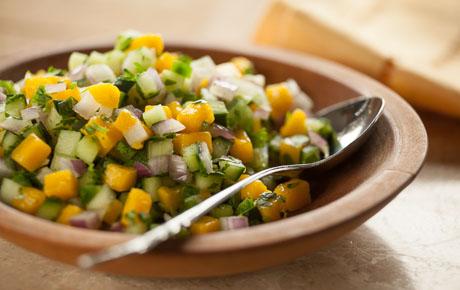 Mango-Cucumber Salsa