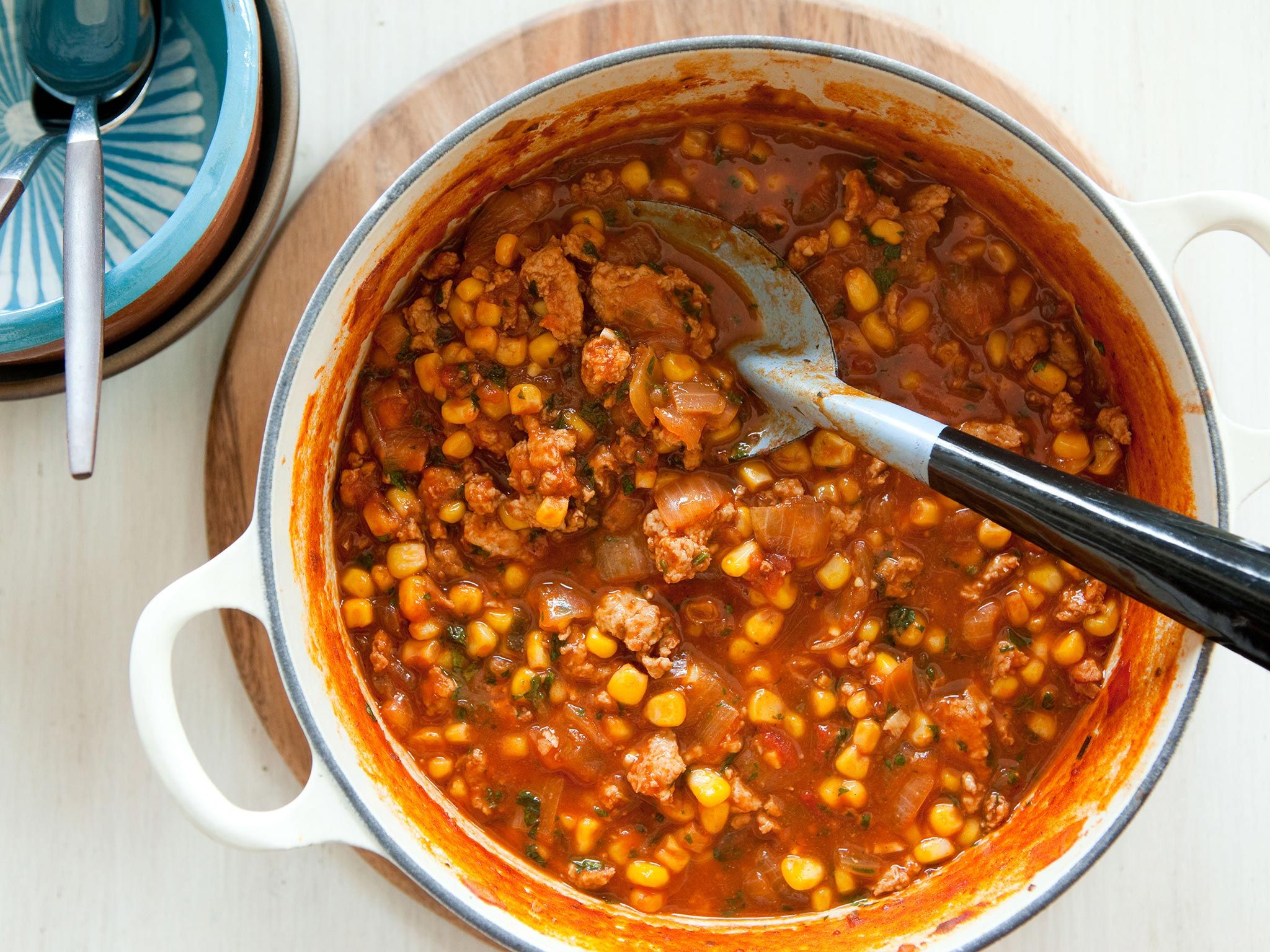 Recipe Spicy Corn And Chicken Chili Whole Foods Market