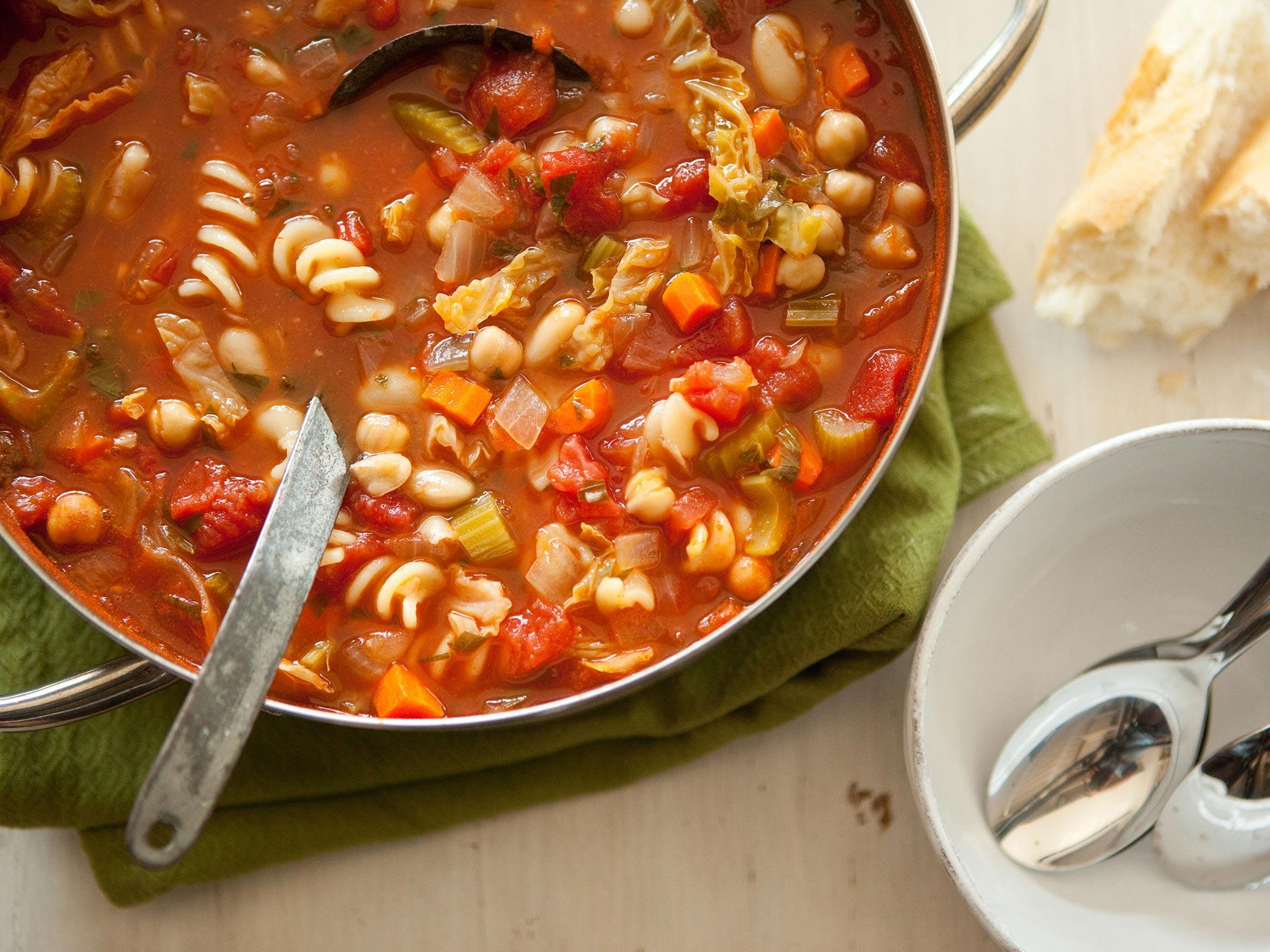 Recipe Hearty Minestrone Soup Whole Foods Market