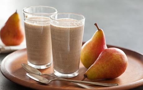 Cinnamon-Roasted Pear Smoothie