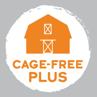 Cage-Free Plus Label