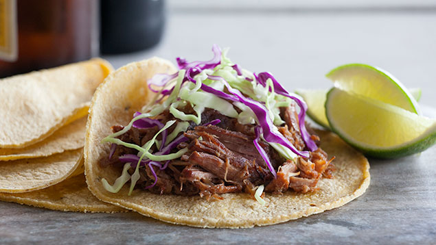 Easy Carnitas with Beer and Pepper Jelly
