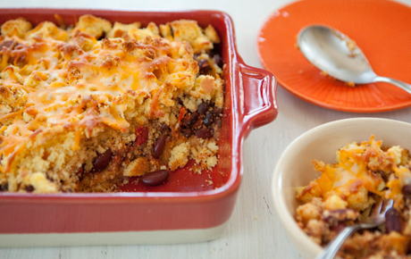 One Dish Chili Casserole