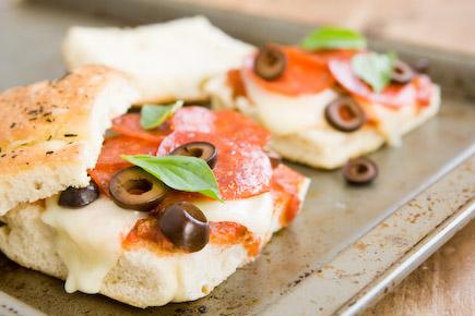 Focaccia Pizza Sandwiches