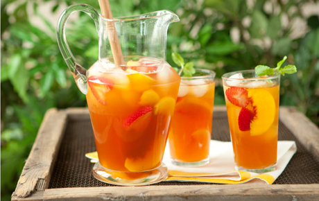 Peach Berry Iced Tea