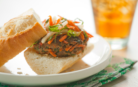Banh Mi Grass-Fed Beef Burgers Recipe