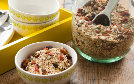 Fruit and Hemp Seed Muesli