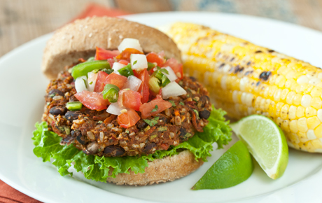 Southwest Veggie Burgers Recipe