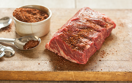 BBQ Beef Chile Rub and Coffee Cure