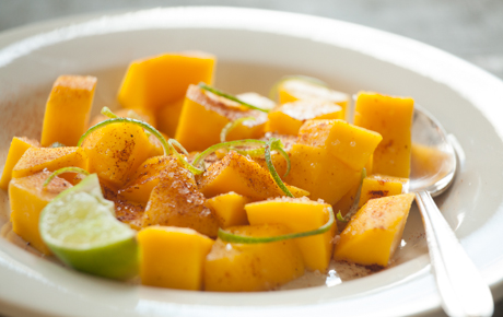 Mango Salad with Chile-Lime Salt