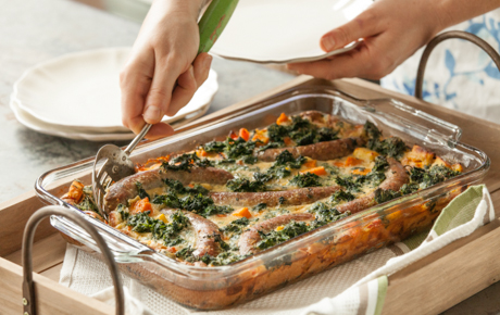 Veggie-Packed Toad-in-the-Hole