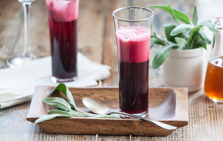 Honeyed Beet Sparklers