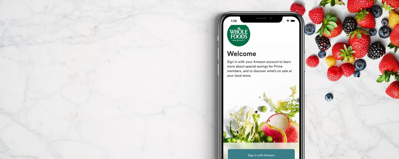 Our App Whole Foods Market