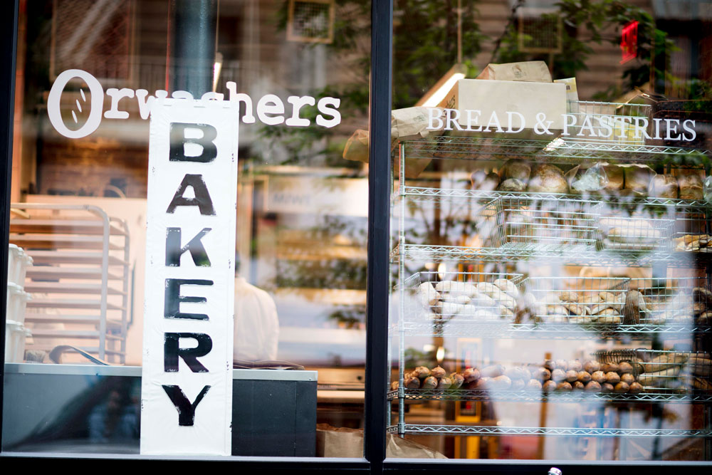store front, Orwashers Bakery, Bread and Pastries
