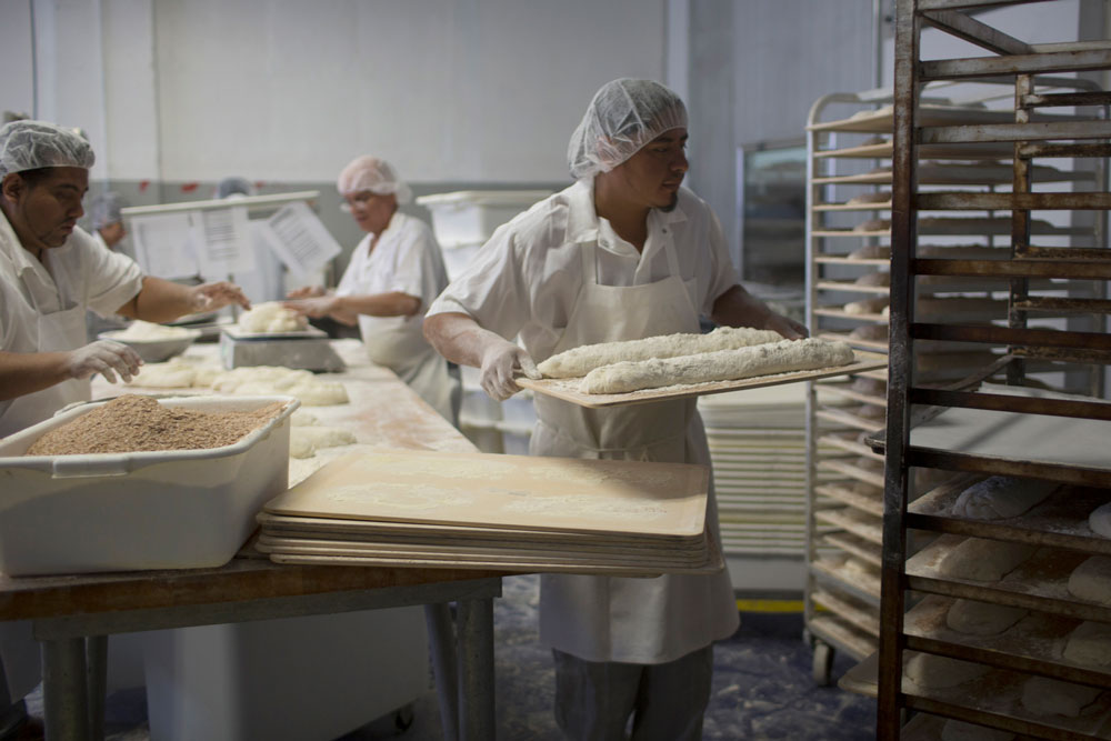bakers working