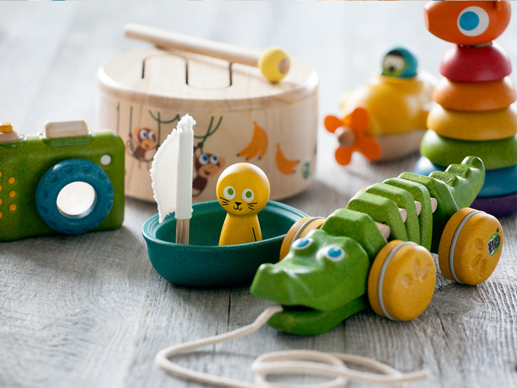 PBS KIDS classic wooden toys