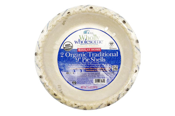 Wholly Wholesome Organic Traditional Pie Shells