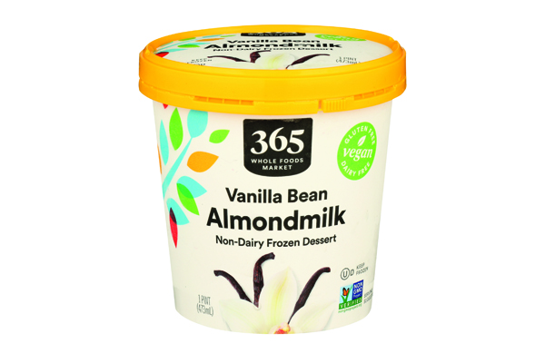 365 Vanilla Almondmilk ice cream