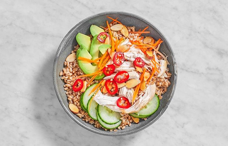Chicken grain bowl