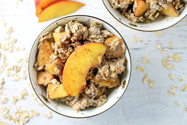 Peach Pie Overngiht Oats