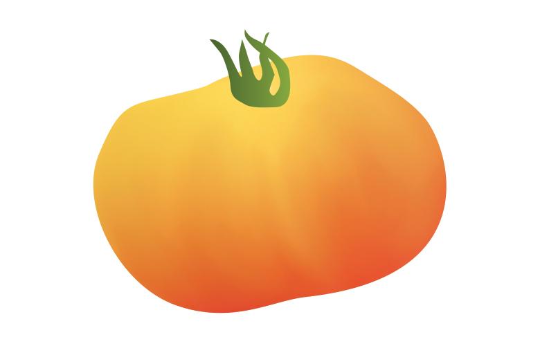 Marvel Stripe Tomato illustration