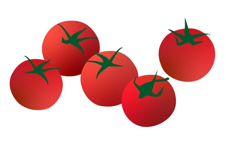 Mini Charms Tomato illustration