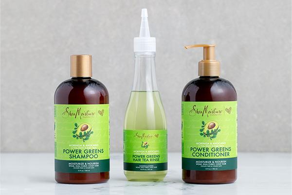 Shea Moisture Power Greens Hair care