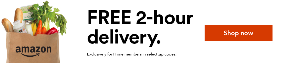 Grocery Delivery Available! Whole Foods Market + Prime Now