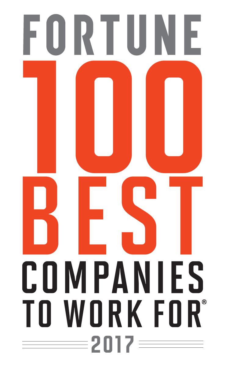Fortune 2017 100 Best Companies to Work For