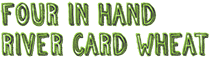 Four In Hand River Card Wheat