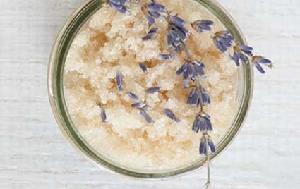 Relaxing Lavender Body Scrub