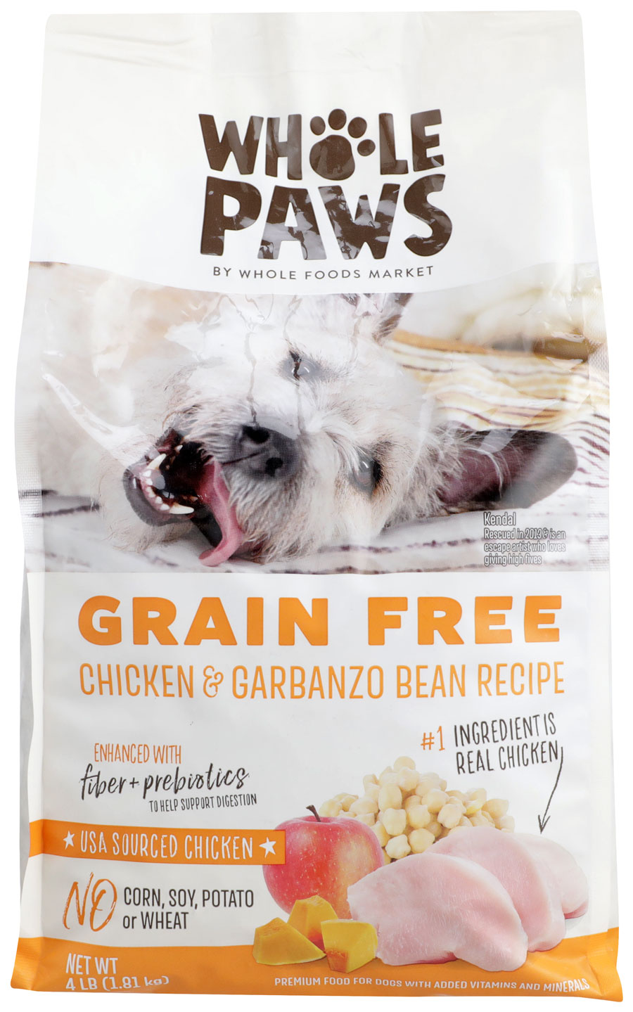 Product image of Whole Paws Chicken & Garbanzo Bean Recipe