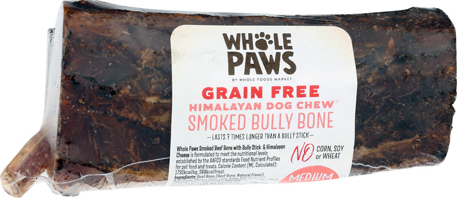 Product images of Whole Paws Himalayan Dog Chew Smoked Bully Bone