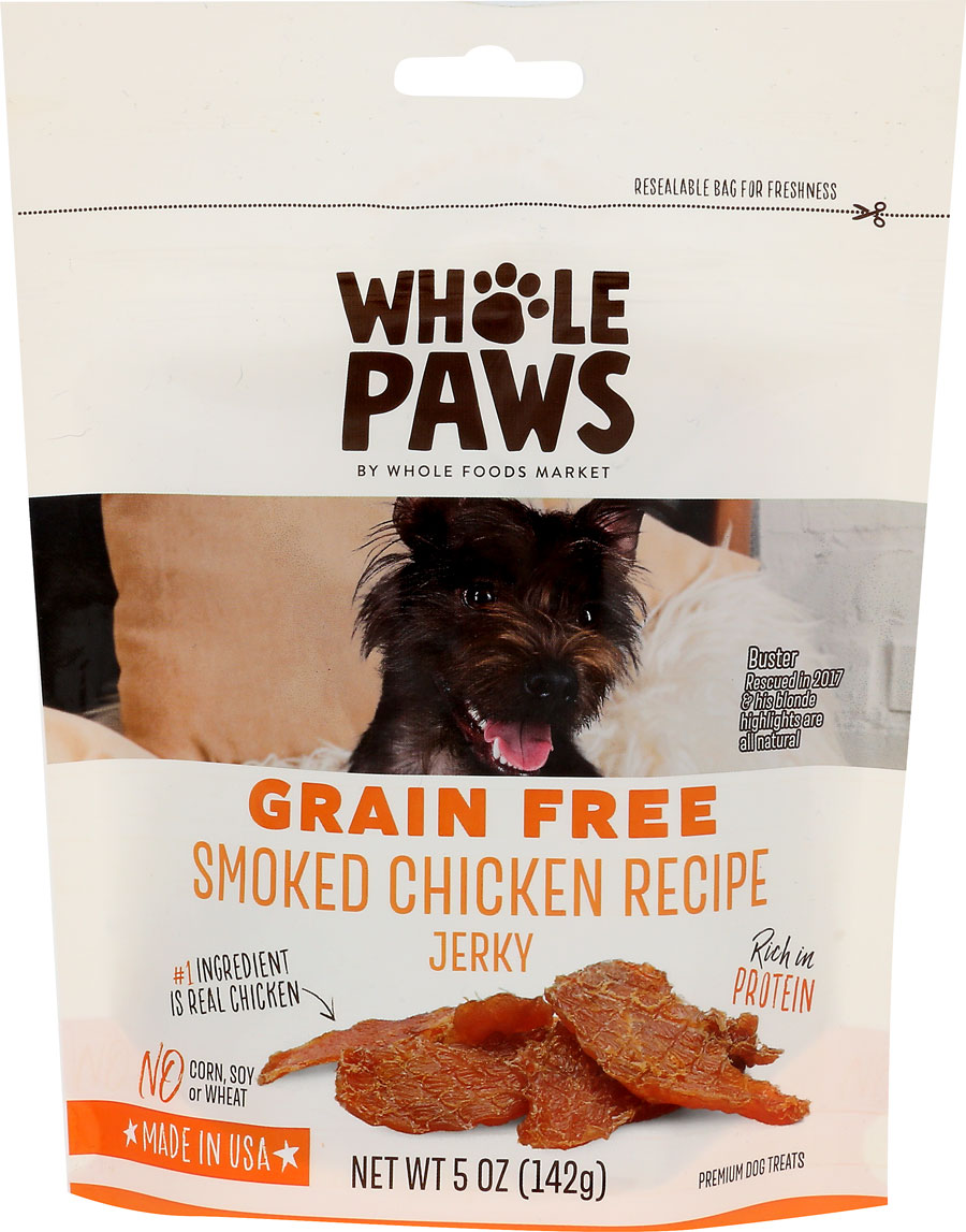 Product image of Whole Paws Smoked Chicken Recipe Jerky