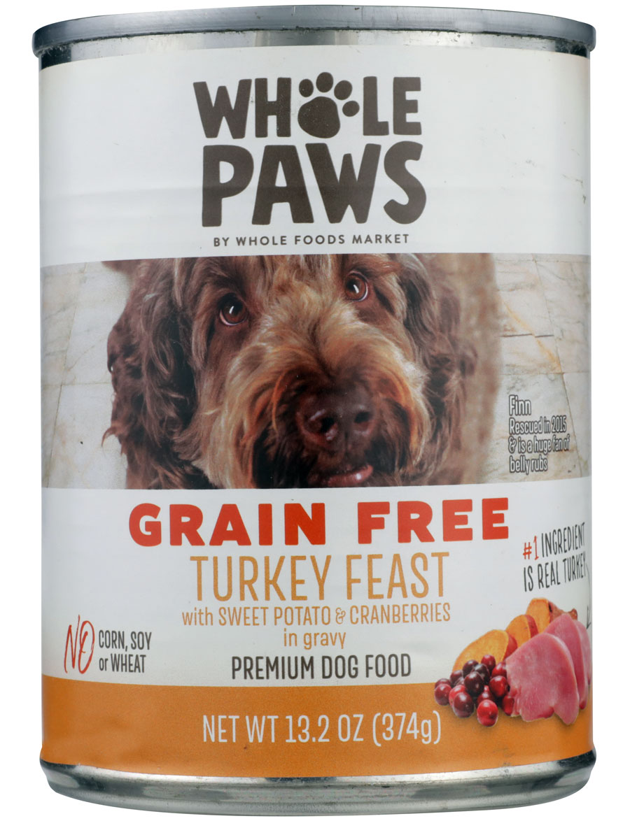 Product image of Whole Paws Turkey Feast with Sweet Potato & Cranberries in Gravy