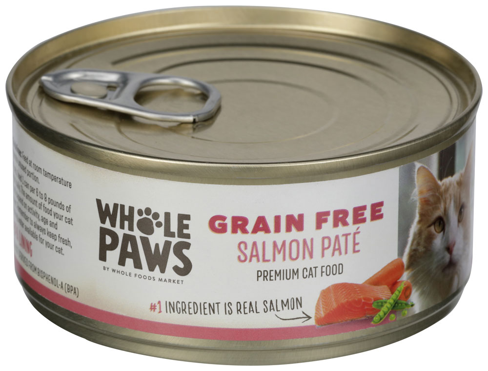 Product images of Whole Paws Salmon Paté