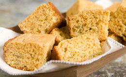 Roasted Anaheim Chile Cornbread