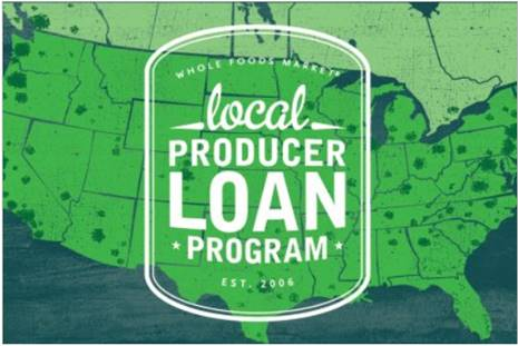 Whole Foods Market Local Producer Loan Program EST. 2006 logo
